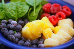 fruit smoothie berries